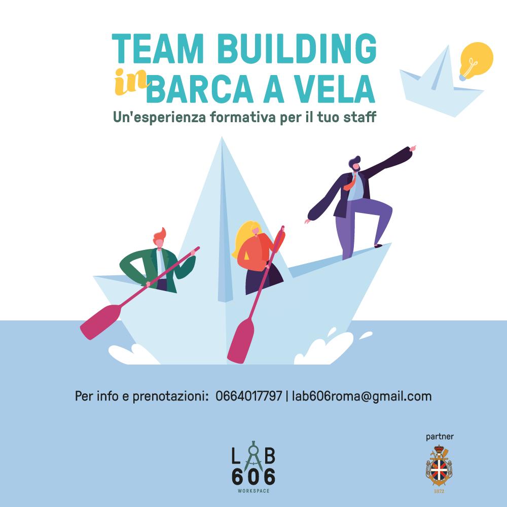 Team building in barca a vela.Un'esperienza formativa per il tuo staff